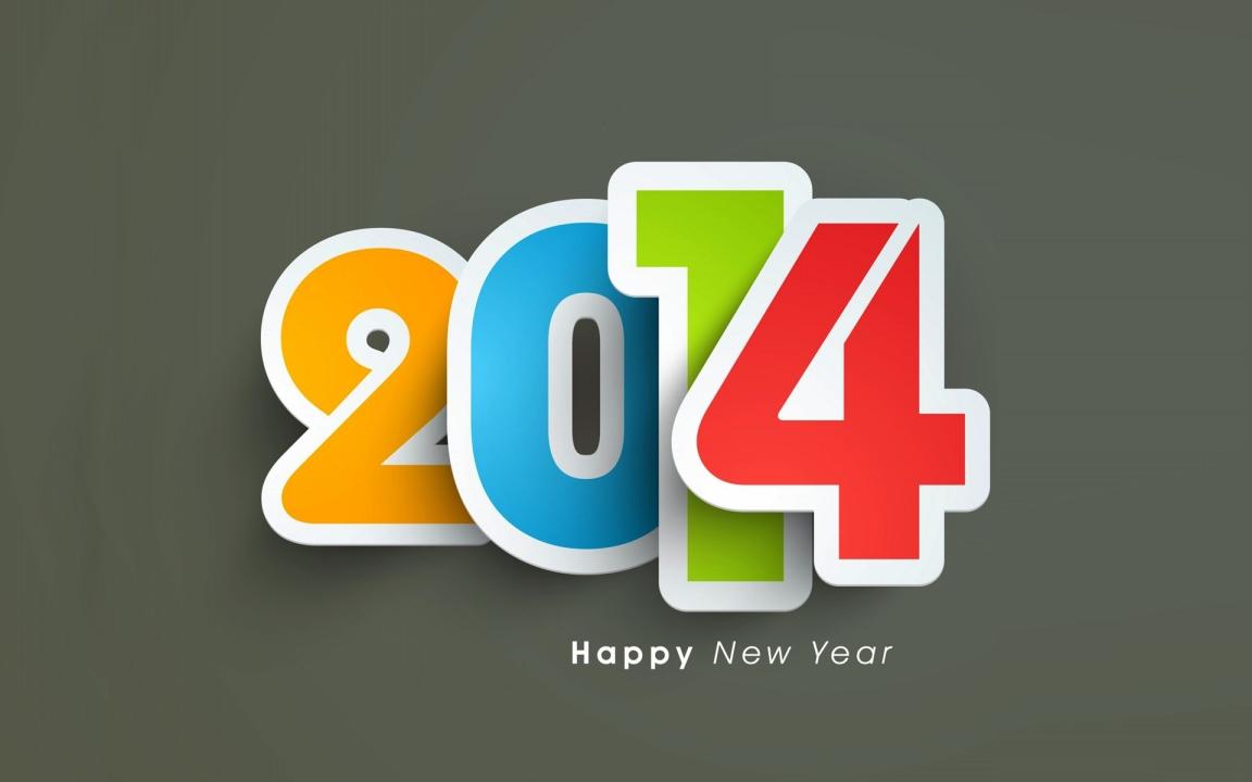 HAPPY NEW YEAR! 2014!