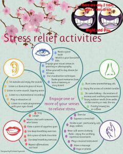List of Stress Relief Activities
